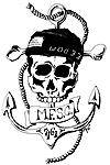 Anchor Skull Tshirt