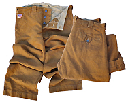Britches Chaparral CANVAS brown