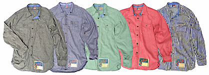 NOS Chambray Shirts Grouping