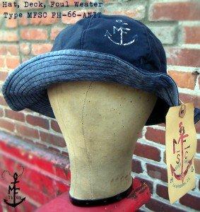 MFSC Deck Hat, Type FH-66-ANIT