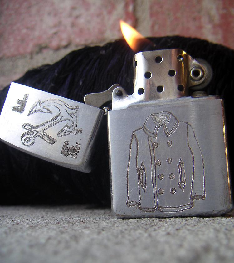 Mister Freedom® custom Zippo® Lighter ©2008