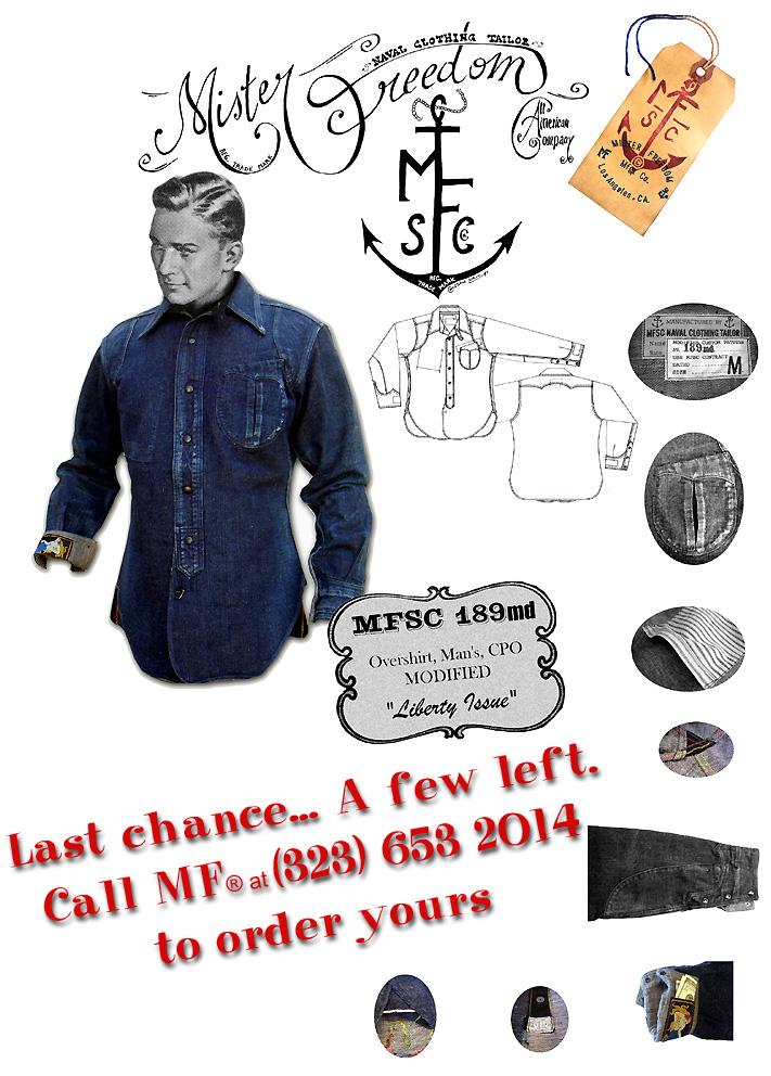 MFSC 189md CPO Shirt