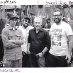 Vincent & Olivier PRAT (SouthSider MC), David BORAS (El Solitario MC), Juan