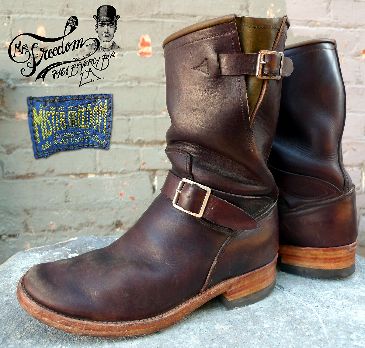 Mister Freedom® ROAD CHAMP boots
