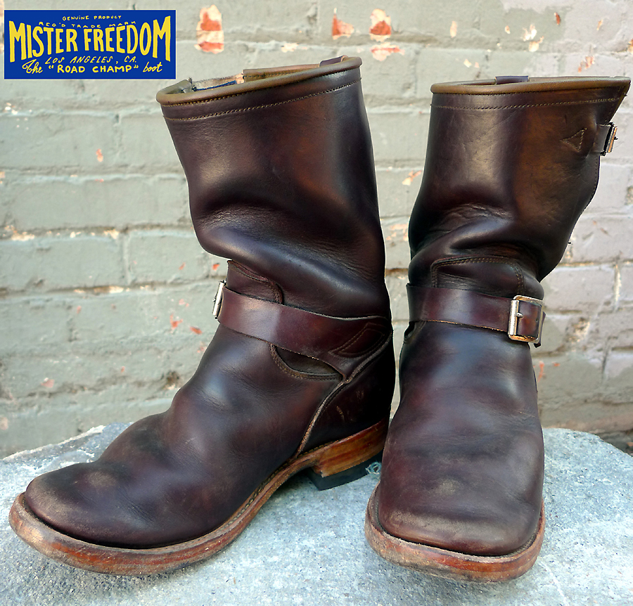 "Mister Freedom® ""ROAD CHAMP©"" Motor-Cycle Engineer boots ..."