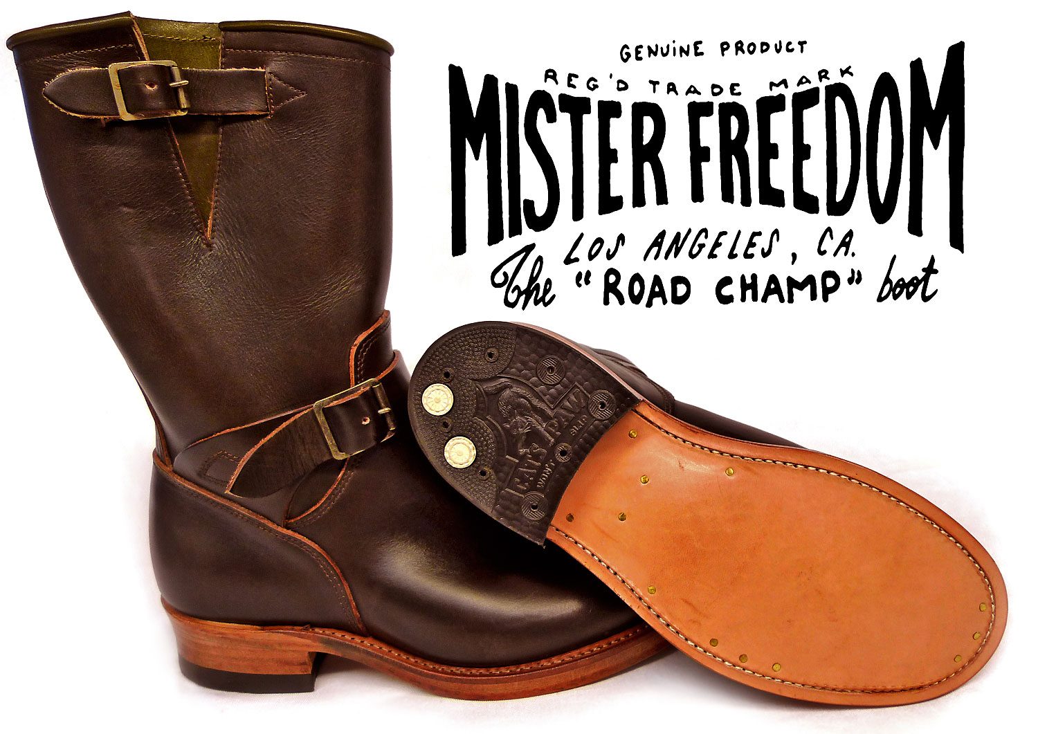 MF® Road Champ Motor-cycle Boots Mister Freedom® ©2008