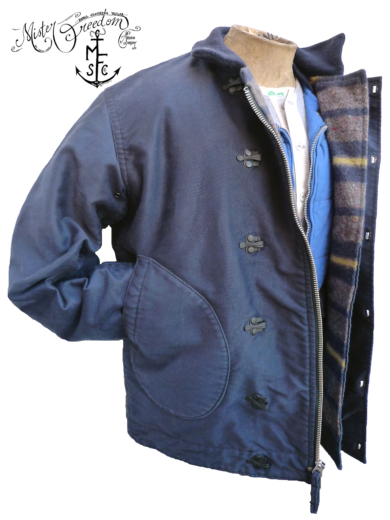 "MFSC Deck Jacket Troy issue ""N-1Hmd"""