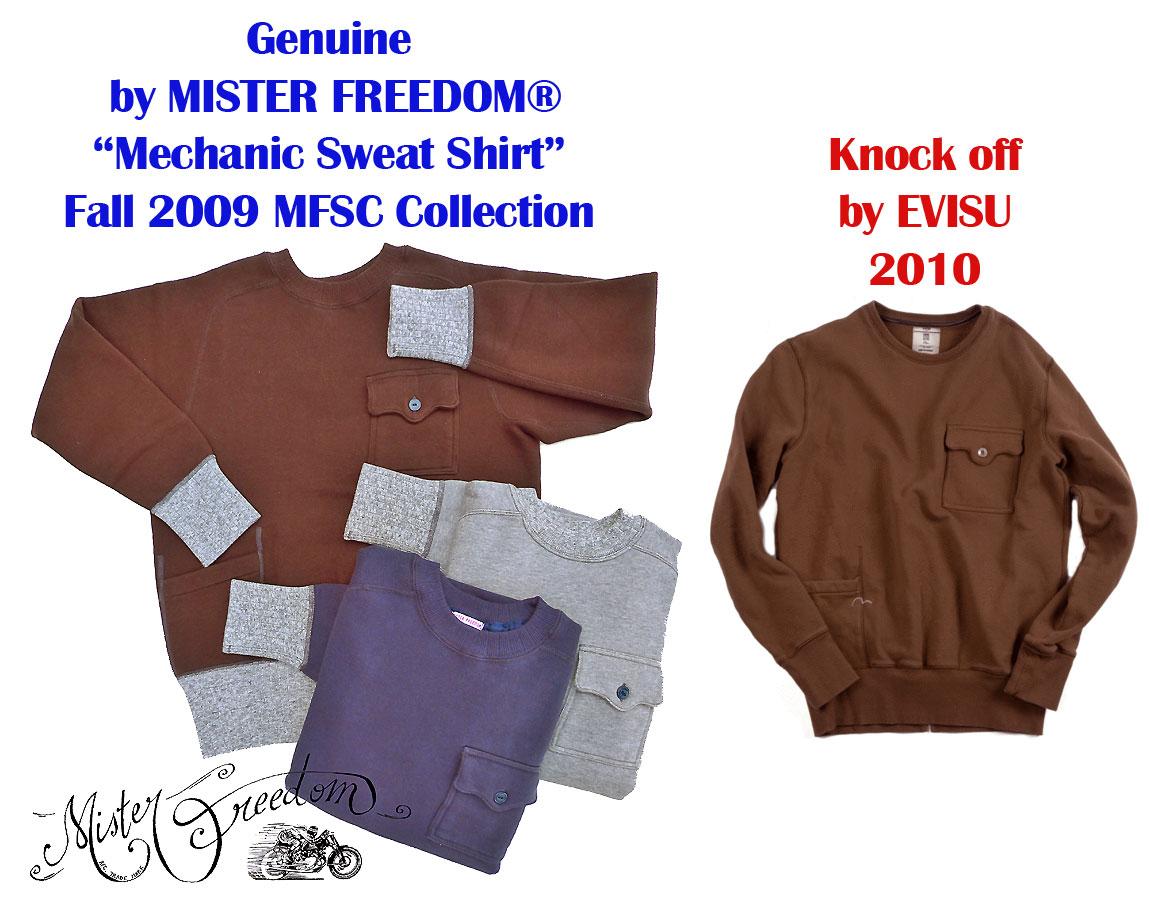 Evisu KnockOff MFSC® Sweatshirt