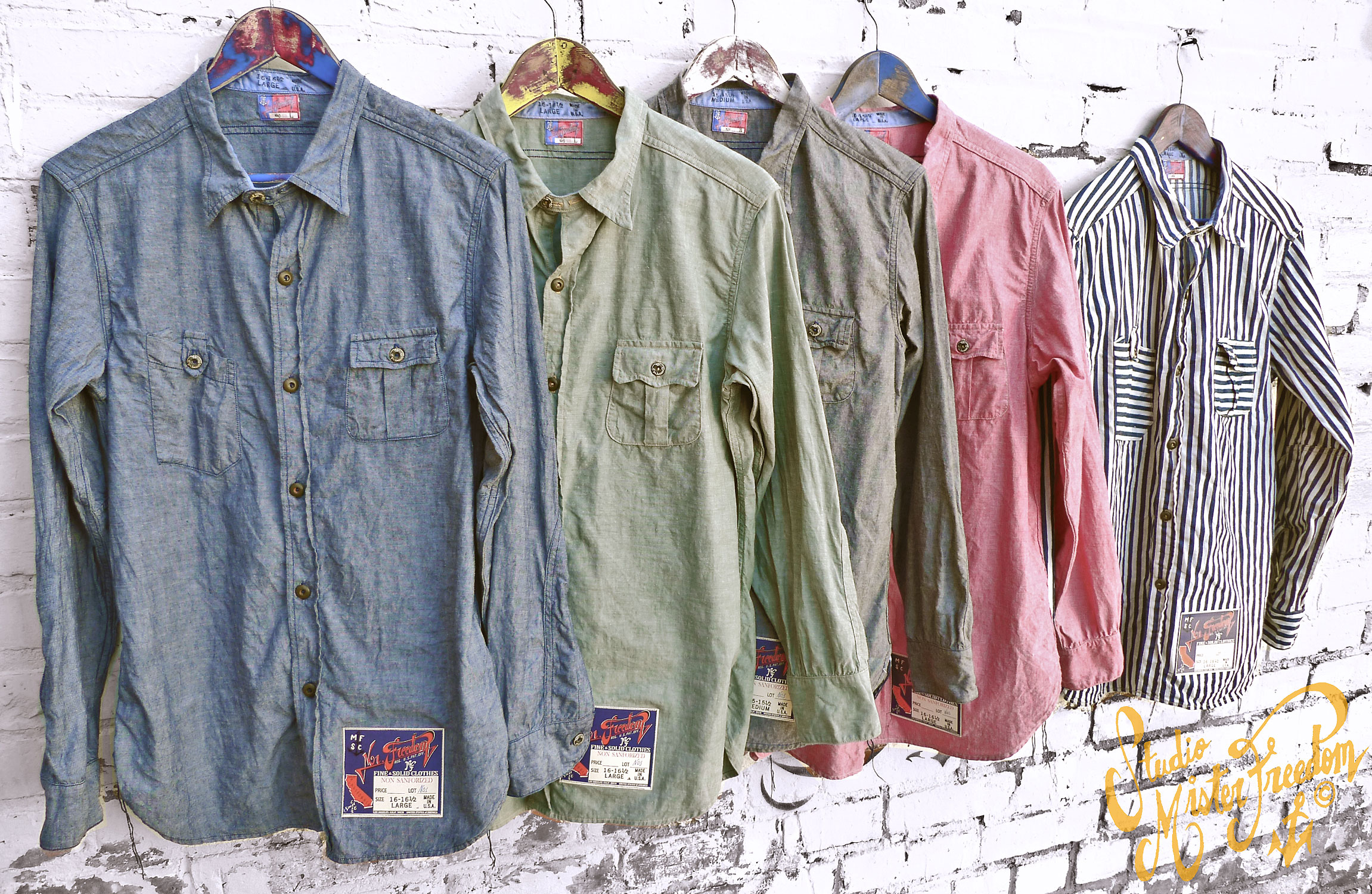 Mister Freedom NOS Chambray shirt
