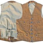 MFSC Range Vest BROWN Canvas