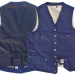 MFSC Range Vest INDIGO Canvas