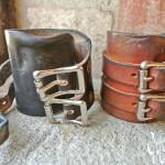 Mister Freedom® Strongman Cuffs worn