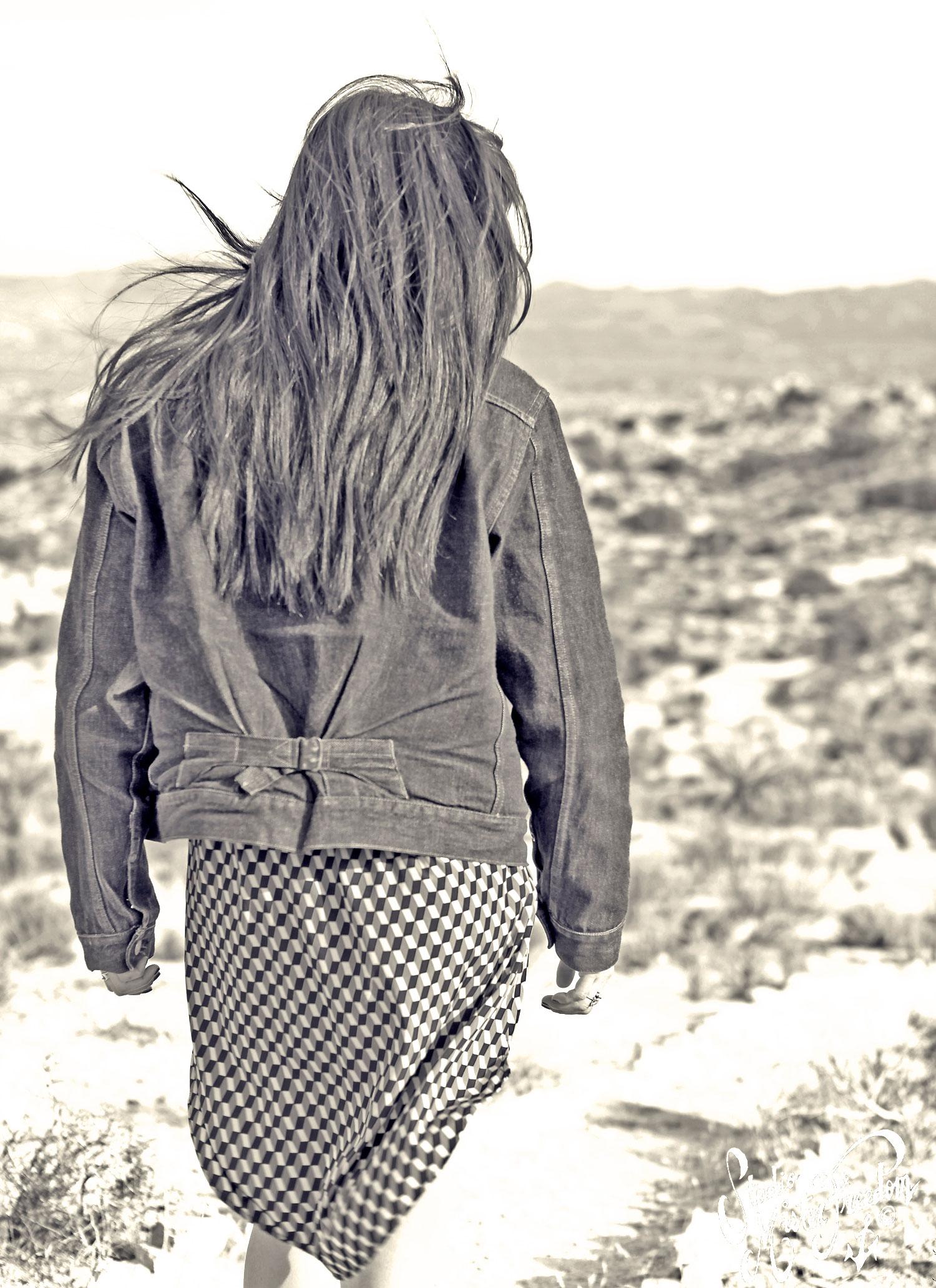 MF® Ranch Blouse Tina Back