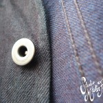 Indigo Gunslinger Jumper Button