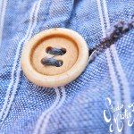 MF® Cotton Sack Coat bone button