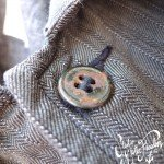 MF® Cotton Sack Coat metal button