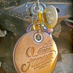 MF® Leather Key Chain ©2012