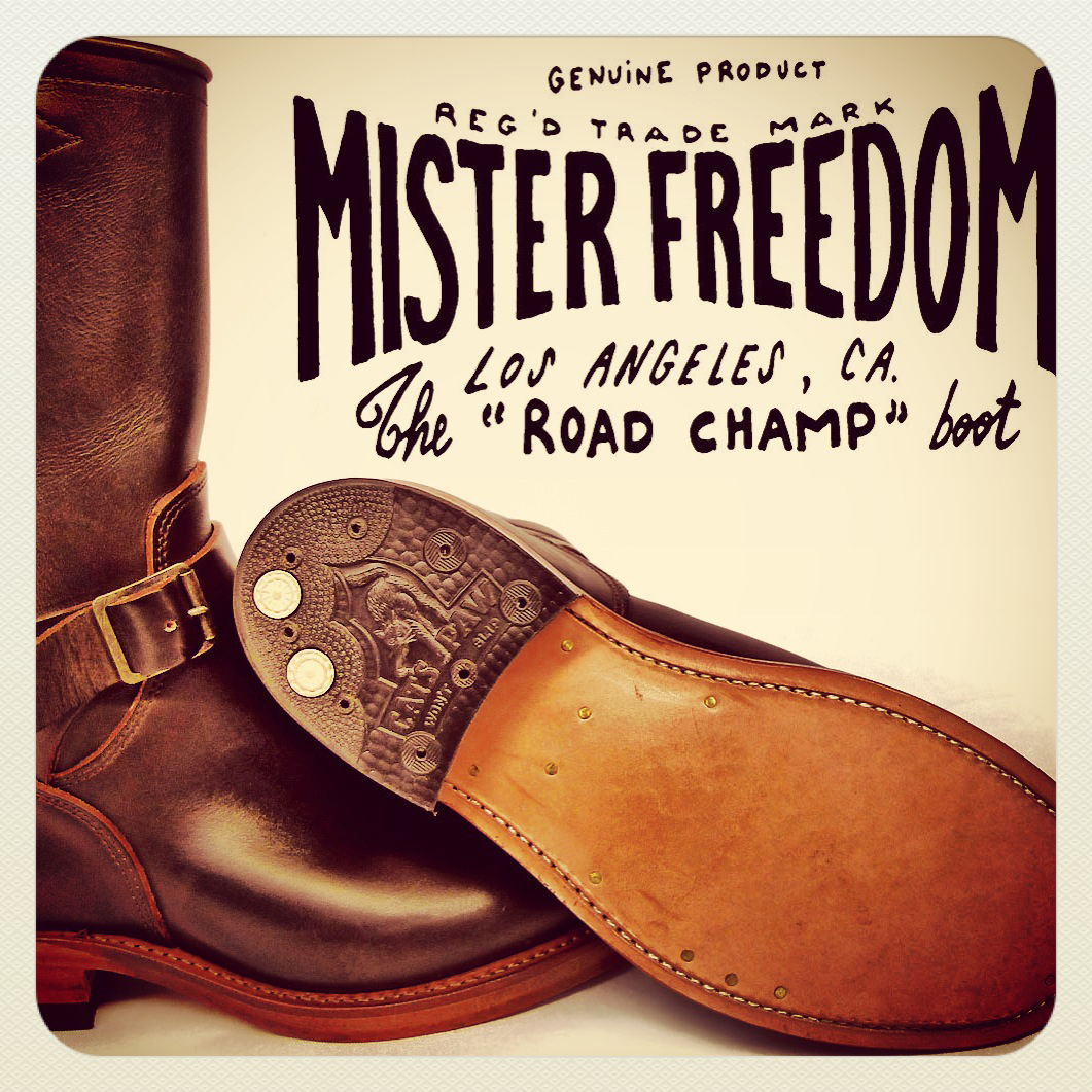 Road Champ Ad IG Mister Freedom® ©2008