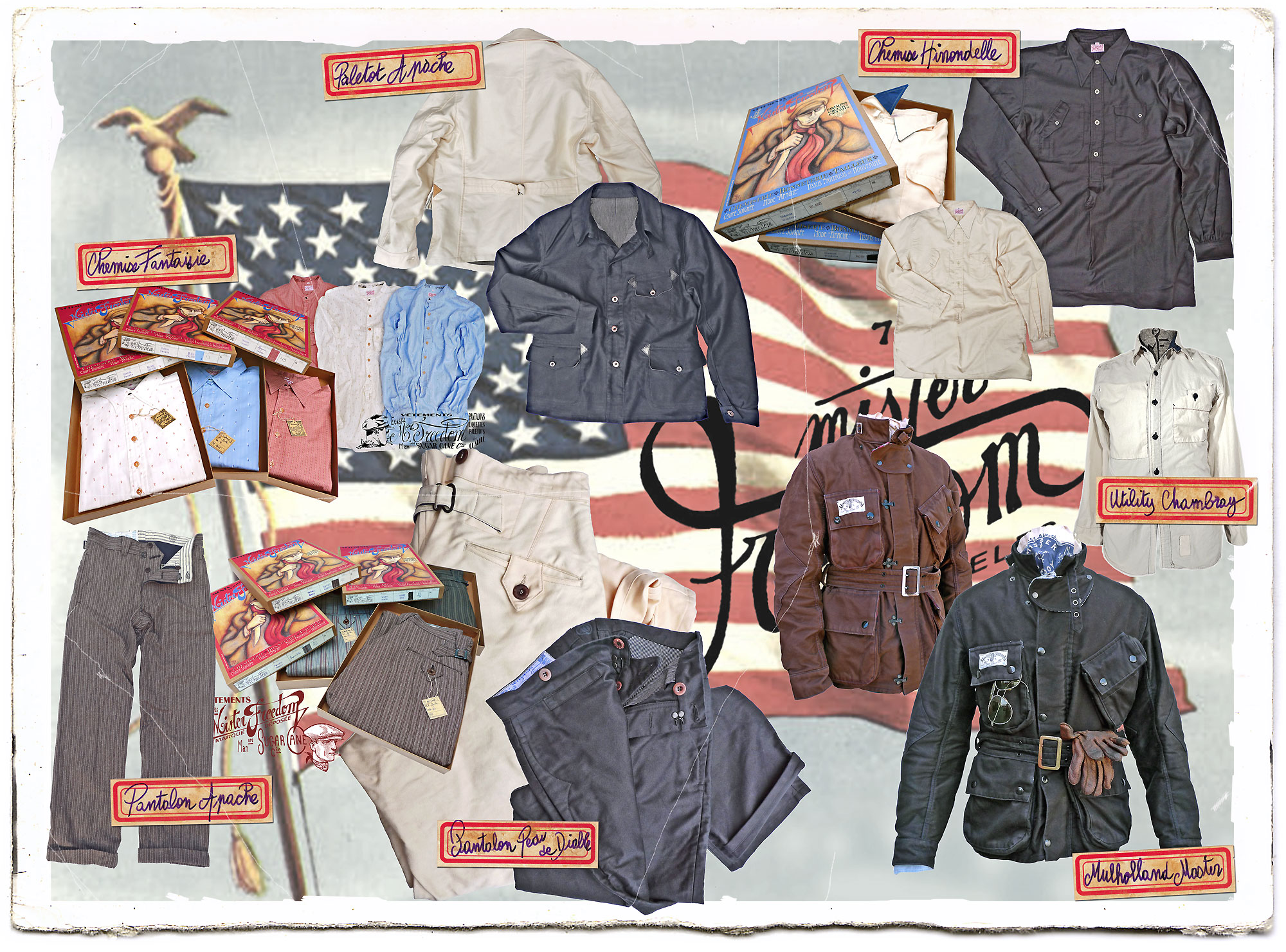 Labor Day Sale (25% off selected items, entire month of September 2012) Mister Freedom® ©2012