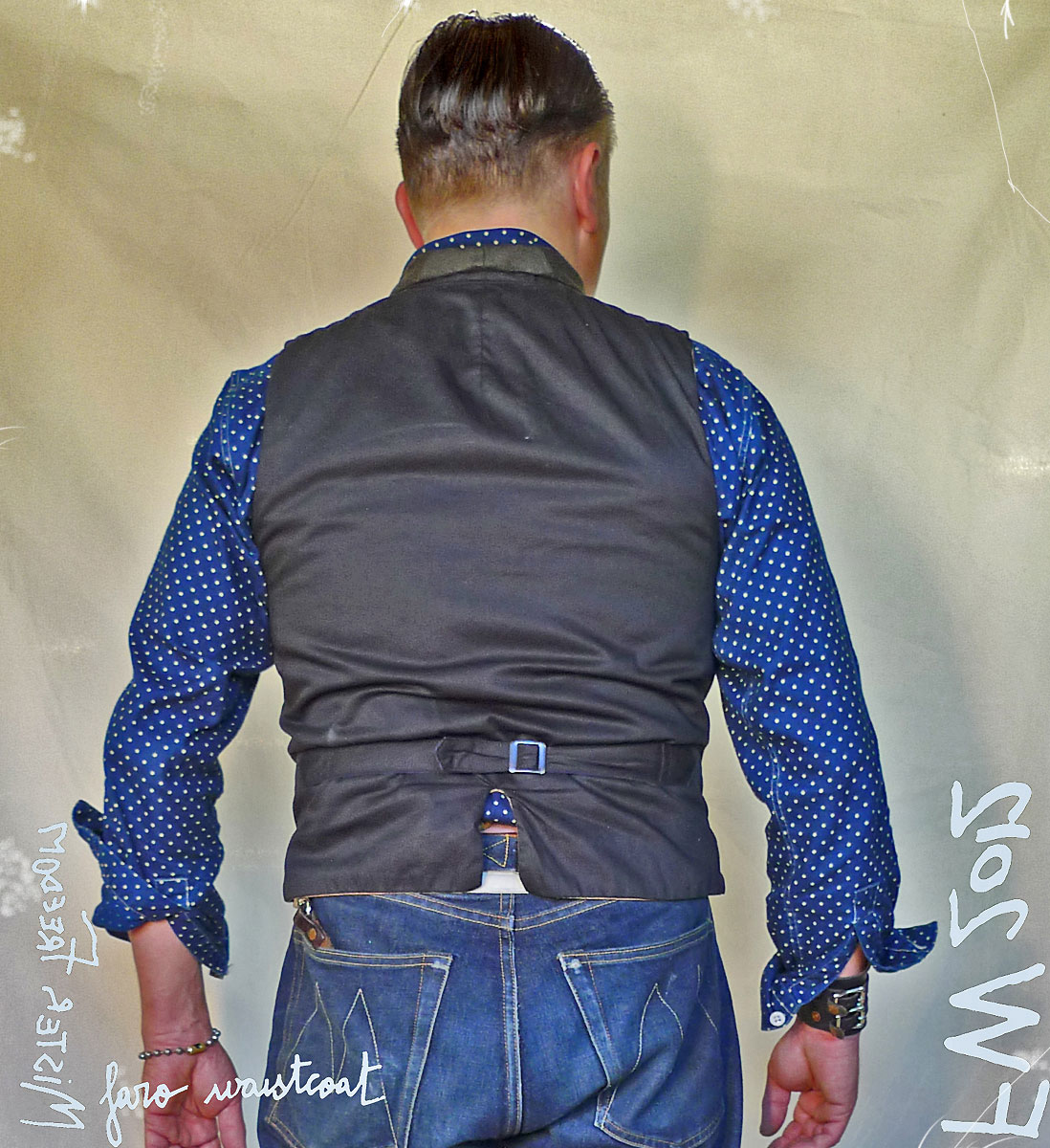 I look like a 300 lb gorilla from behind. I had not yet noticed that from the front, Mister Freedom® ©2012