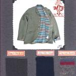 Faro Sack Coat fabric swatch Mister Freedom® ©2012