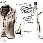 Faro-Sack-Coat-early-sketch Mister Freedom® ©2012