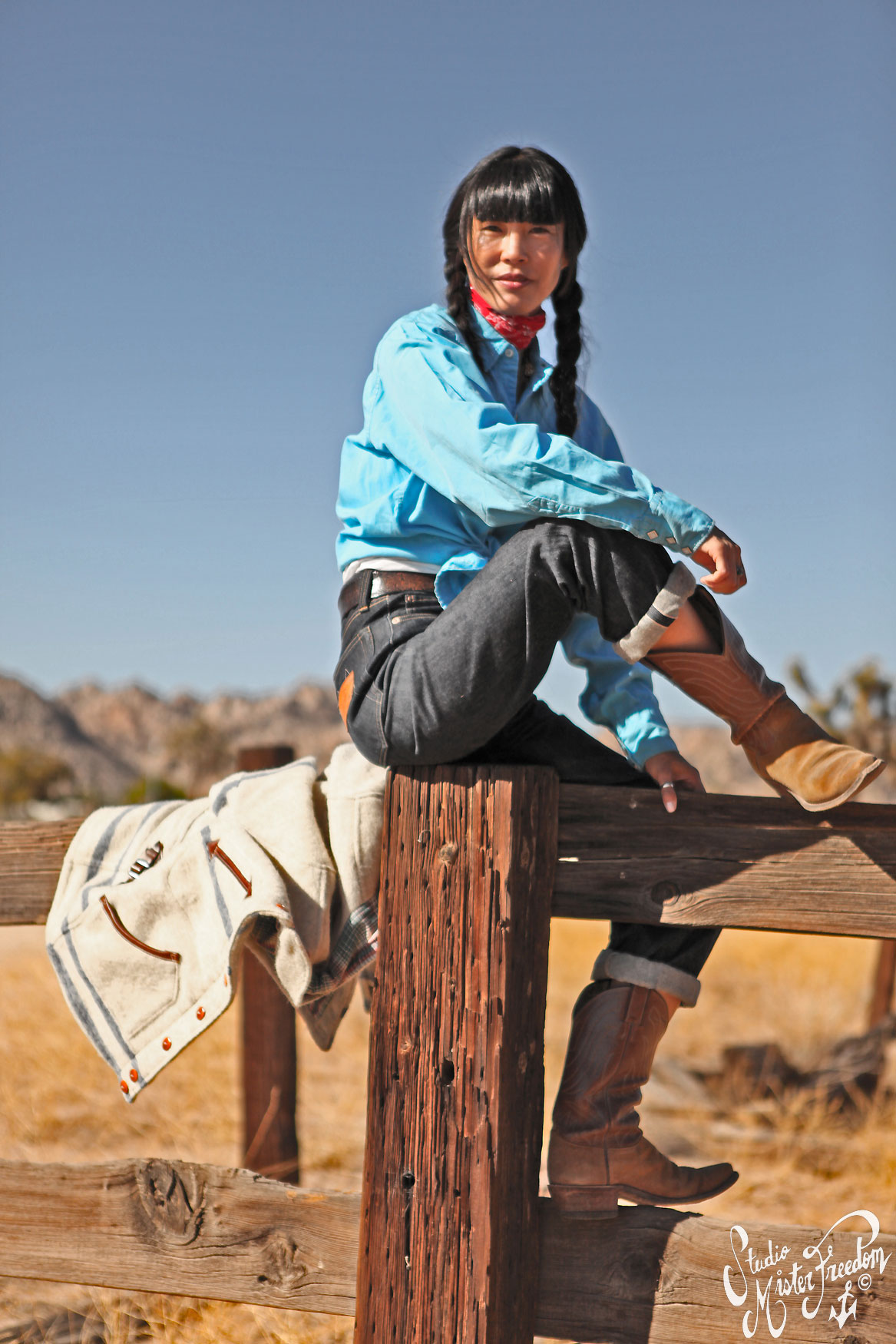 Tina fence Drover Blouse ©2012 Mister Freedom®