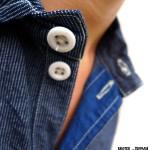 Reno shirt TICKING-collar ©2012 Mister Freedom®