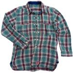 Ranch Hand flannel Turquoise ©2012 Mister Freedom®
