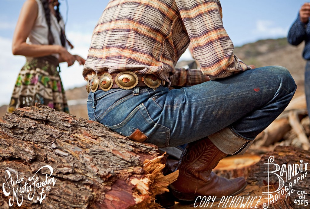 Tom Ranch Hand flannel shirt, Calif Lot54 ©2012 Mister Freedom® Cory Piehowicz Photography