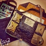 I customized my own haversack, with recycled NOS military parts. Also made an iPad® sleeve (Mister Freedom® ©2012)