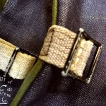 Denim Laptop Haversack Buckles ©2012 Mister Freedom®