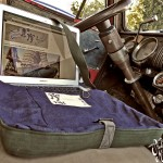 Denim Laptop Haversack Chevy ©2012 Mister Freedom®