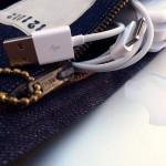 Denim Laptop Haversack USB ©2012 Mister Freedom®