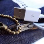 Denim Laptop Haversack Zipper ©2012 Mister Freedom®