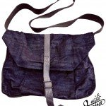 Denim Laptop Haversack Front ©2012 Mister Freedom®