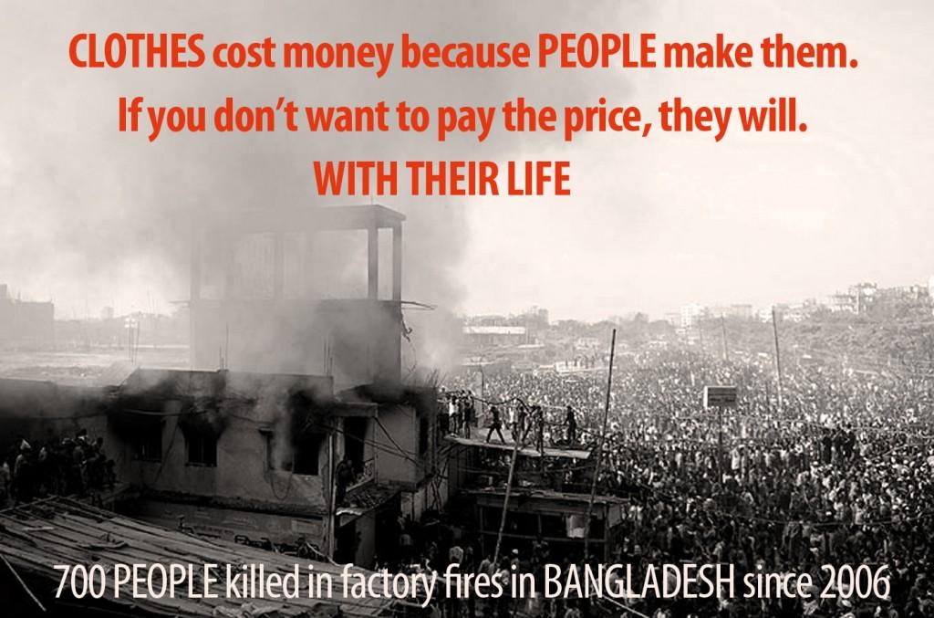 Dhaka, Bangladesh garment factory tragedy Jan 2013 (Photo AFP ©2013)
