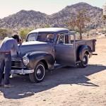 Matt shooting '49 Hudson ©2012 Mister Freedom®