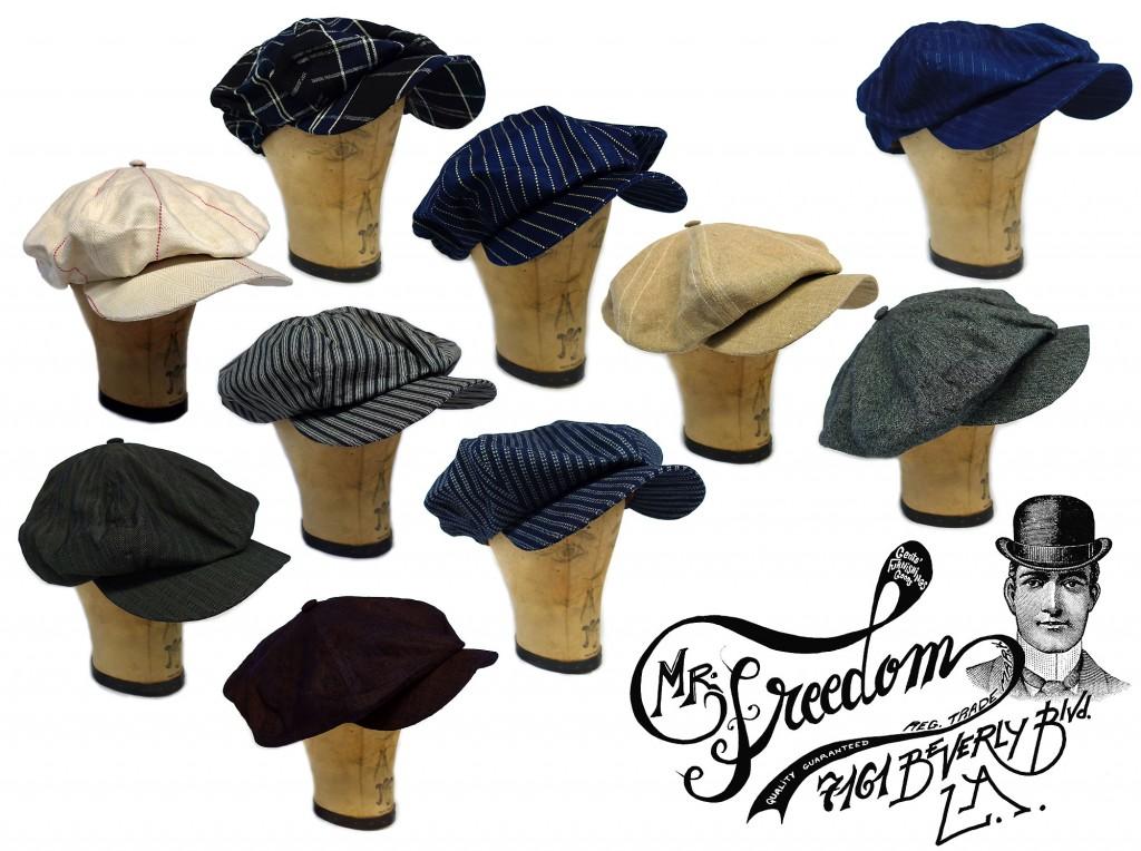 Scuttler Cap Ad Mister Freedom® ©2012