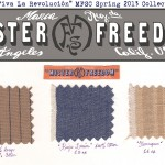 Spring 2013 Fabrics swatches Hacendado ©2013 Mister Freedom®