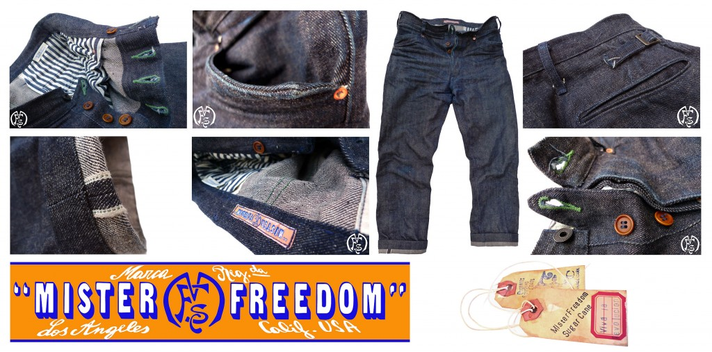 Vaquero Blue Jeans ©2013 Mister Freedom®
