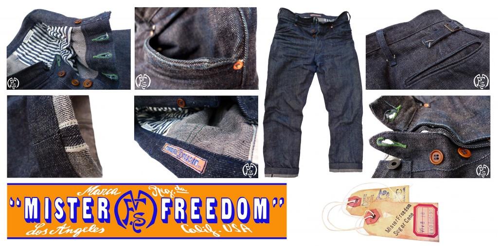 Vaquero Blue Jeans ©2013 Mister Freedom®