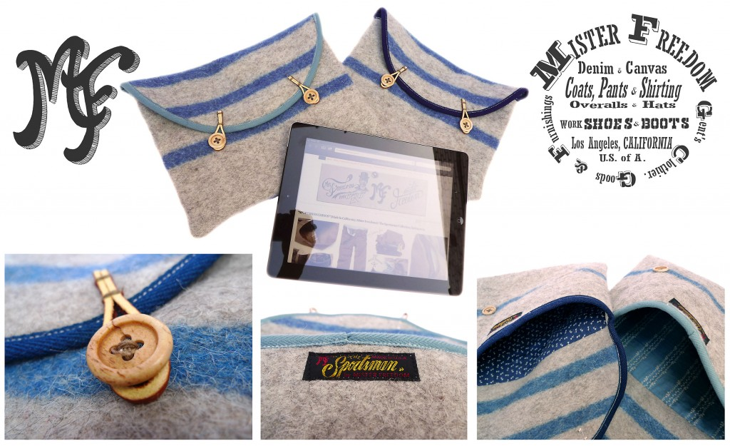 iPad® WOOLIES ©2013 Mister Freedom®