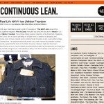 A Continuous Lean ©Michael Williams