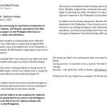 Red Cross Update Dec 6, 2013