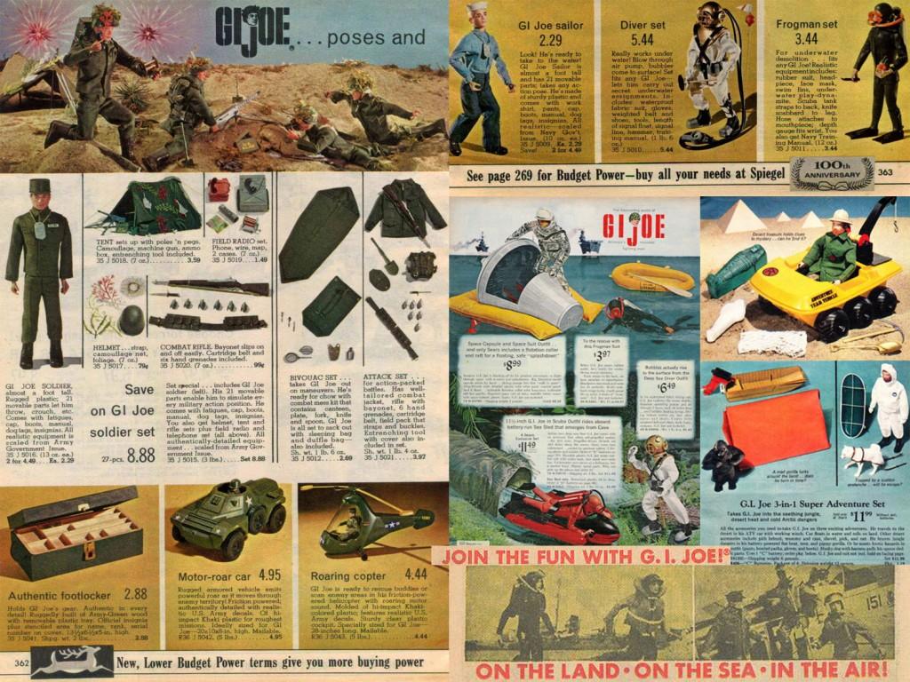 GI Joe Ads 60s Copyright Hasbro