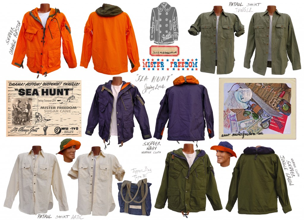 Sea Hunt Mister Freedom Spring 2014