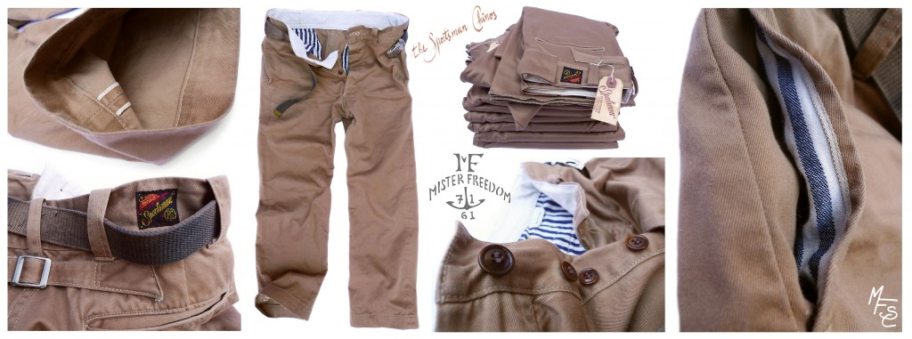 Sportsman Chinos Mister Freedom 2013