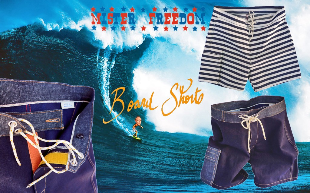 Board Shorts Mister Freedom 2014