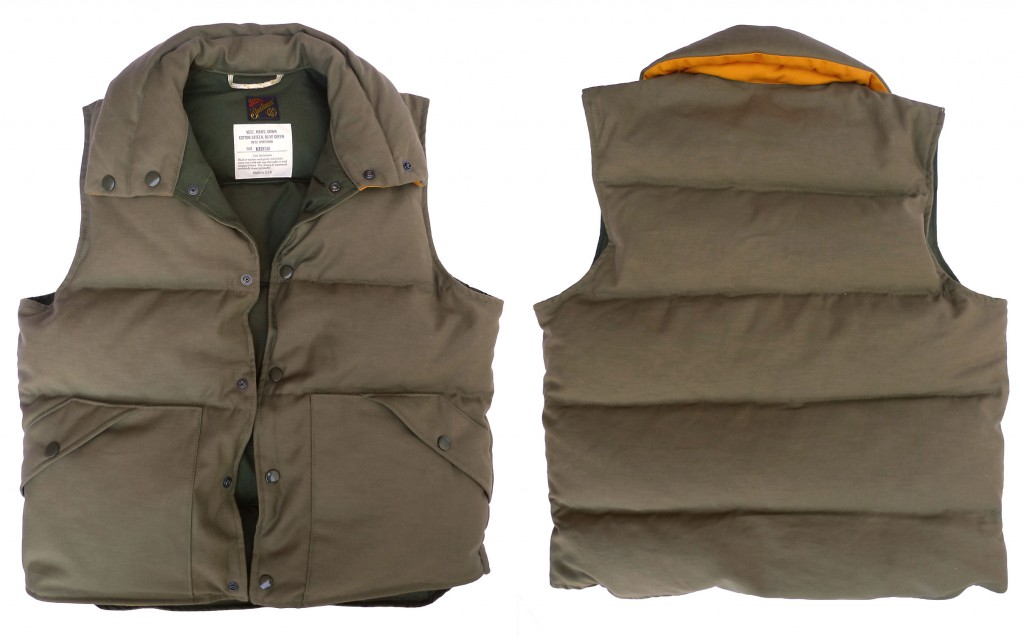Down Vest Mister Freedom Fall 2014